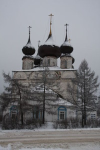 Воскресенский храм перед Рождеством
