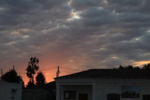 Восход как всегда над Лухом прекрасен