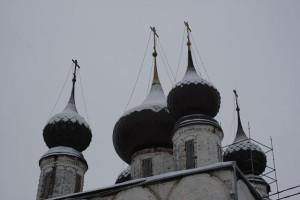 купола Воскресенского храма