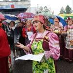 хор ветеранов Родные напевы на празднике Лука