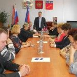 заседание  Лухского  Общественного  Совета