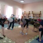 фитнес группа, под руководством Светланы Дороговой