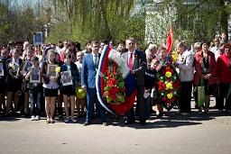 9 мая день Победы Лух 8