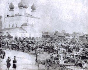 Базар в Лухе.1896 год
