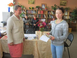 Молодежь Лухского района тоже голосует