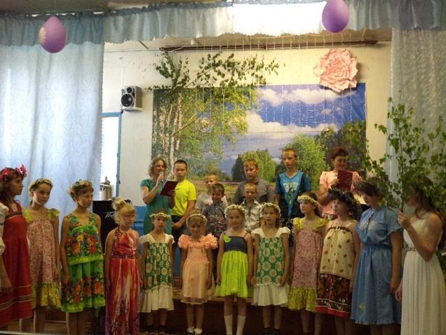 День села и праздник Троицы, отмечали в Русиновской