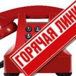 горячая линия телефон