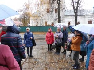 Лухские пенсионеры побывали в городе Шуя