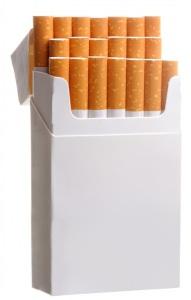 пачка сигарет курение