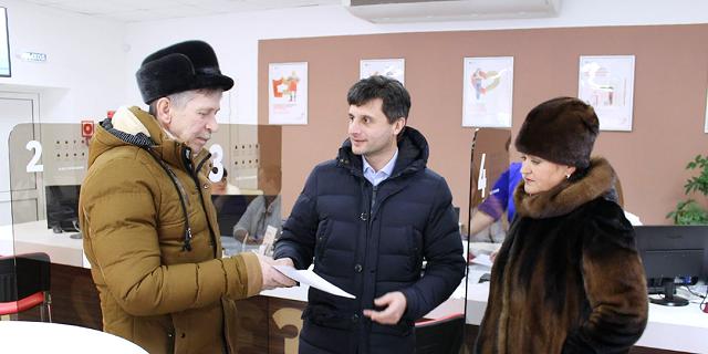 Семья юрьевчанина Владимира Галочкина первой получила документы на квартиру