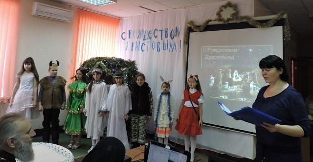 спектакль «История в зимнем лесу»