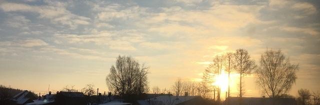 утро Лух 12 января