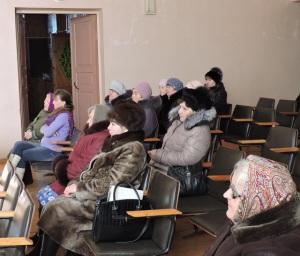 Встреча с жителями с. Рябово