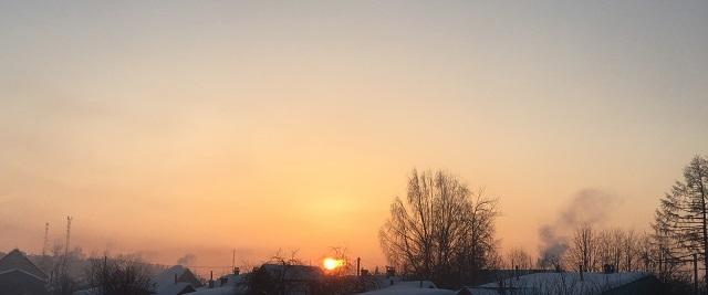 утро Лух 13 февраля 2018 г