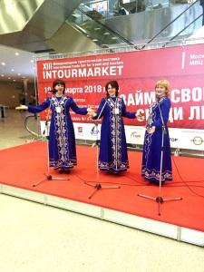 фестиваль Лук-лучок на XIII Международной туристической выставке INTOURMARKET