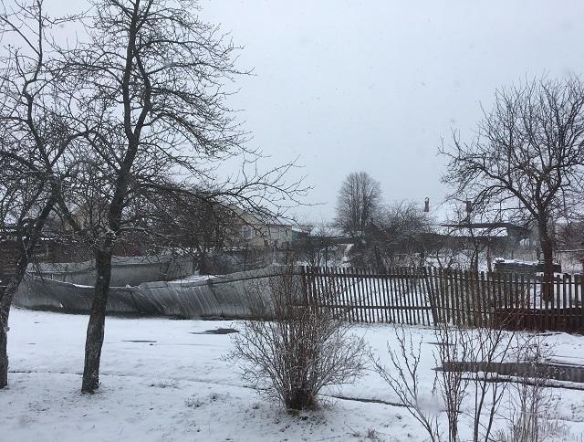 22 апреля снег