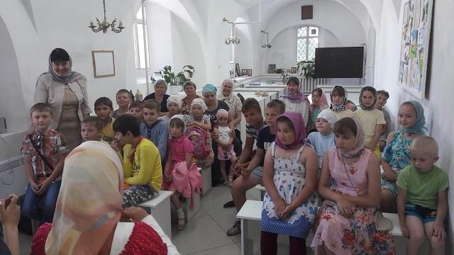 Праздник в воскресной школе.