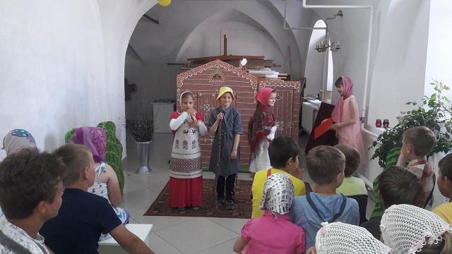Праздник в воскресной школе.1