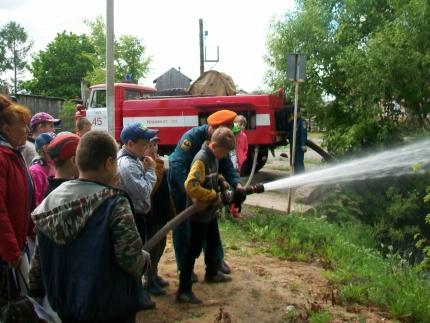 пожарно-спасательной части № 45