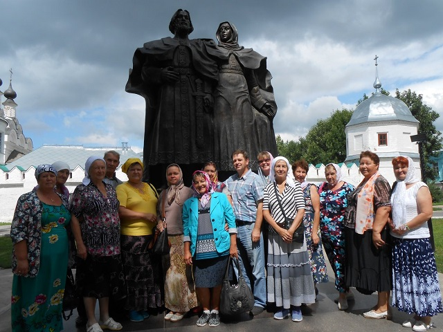 Лухское местное отделение Союза пенсионеров России посетило город Муром.1