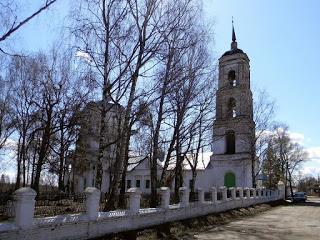 Село Худынское. Забота о храме