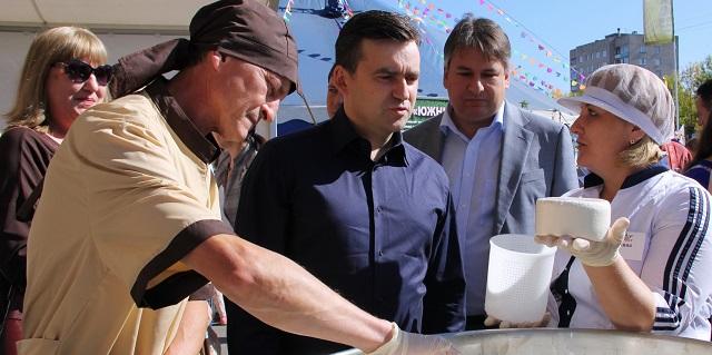 В Иванове впервые проходит «Фестиваль сыра»
