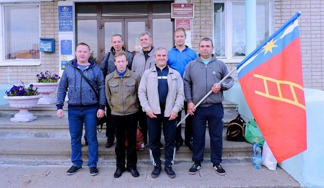 Команда Лухского муниципального района участвует в областной Спартакиаде ГТО
