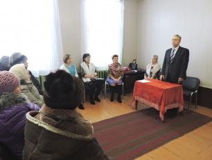 Глава района Николай Смуров встретился с жителями деревни Сорокино