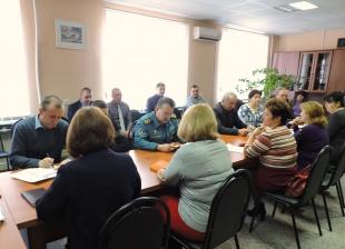 На заседании КЧС обсудили противопаводковые мероприятия