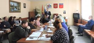 Заседание Совета Лухского муниципального района