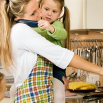 домохозяйка-жнщина дети