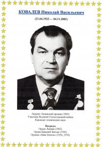 Николай Васильевич Ковалев